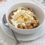 Crockpot Apple Cobbler