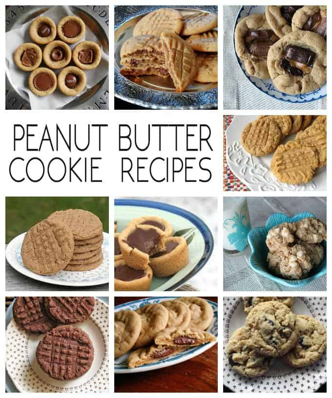 These cookie recipes include holiday cookies, chocolate chip cookie recipes, peanut butter cookies, chocolate and more. 50 delicious recipes to choose from!