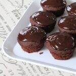 These decadent chocolate cupcakes topped with a glorious chocolate ganache are perfect. This chocolate-chocolate cupcake recipe comes from Dorie Greenspan.