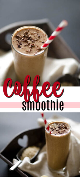 coffee smoothie pin image