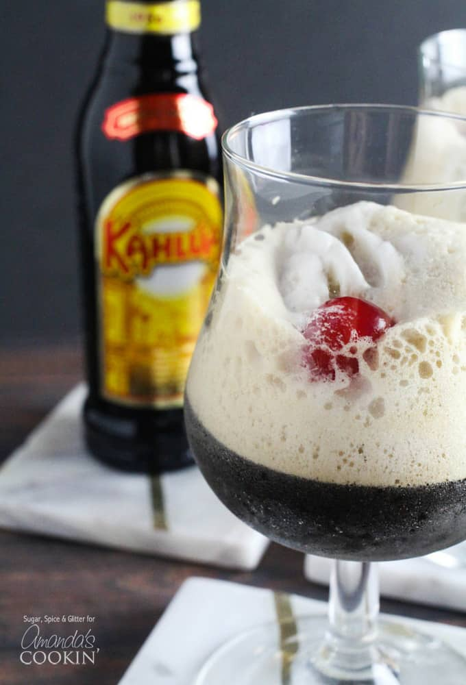 This delicious Kahlua Frappuccino is the perfect cold summer drink. If you enjoy frappuccinos in general and love Kahlua, you must try this cocktail!