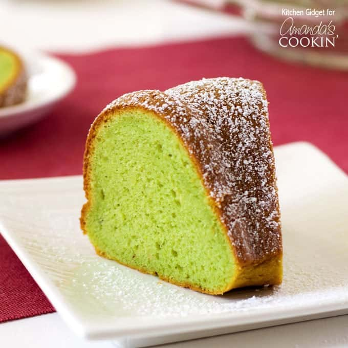 Pistachio Chocolate Bundt Cake Recipe