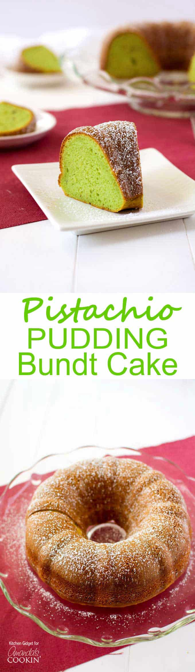 Add Pudding To Yellow Cake Mix Bundt Cake
