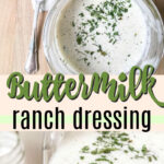 buttermilk ranch dressing pin image