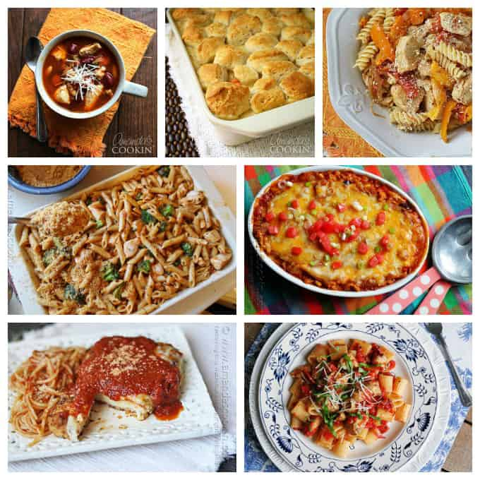 If you are looking for some new chicken recipes, try some from this list! My chicken recipes include stir fry, pasta, casseroles and plenty more!