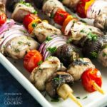 Marinated Grilled Chicken Skewers