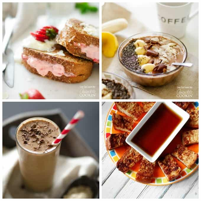 Delicious breakfast recipes you can try!