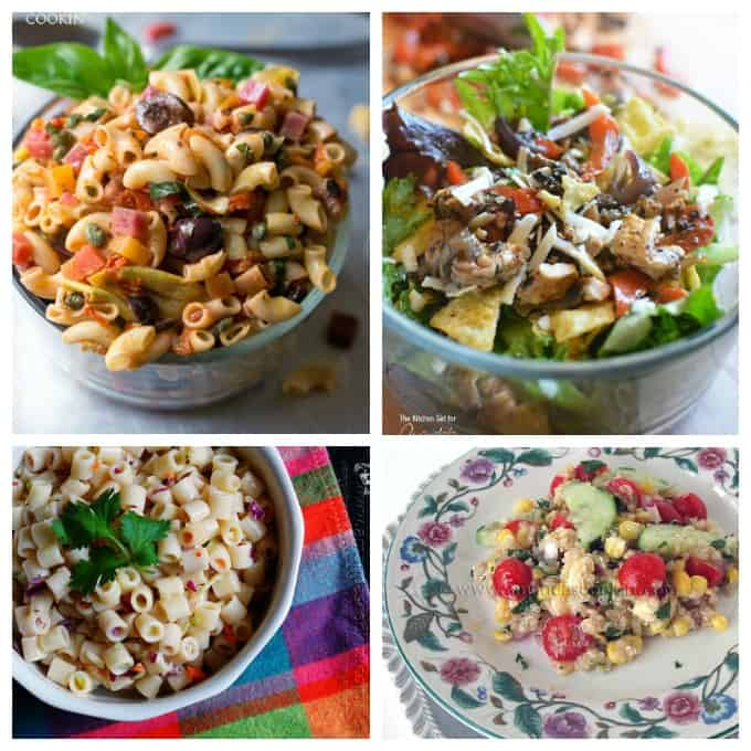 Delicious summer salads to make and take along or enjoy at home!