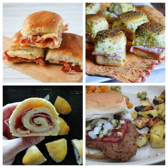 Delicious sandwich ideas, perfect for parties or on the go!