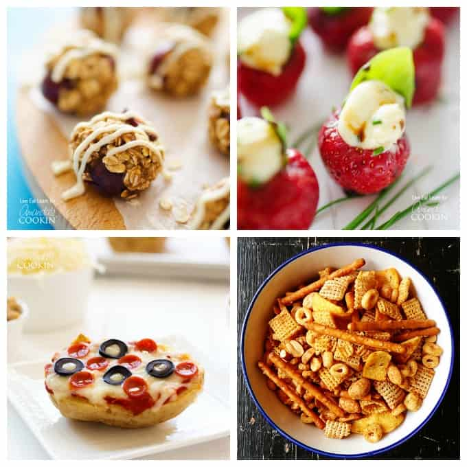 Great snacks you can make yourself! Plus be sure to try the homemade fruit roll ups!