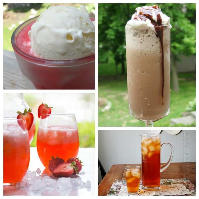 Refreshing summer drinks to help cool you off in the sweltering heat!