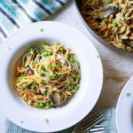 Light Tuna Noodle Skillet Casserole
