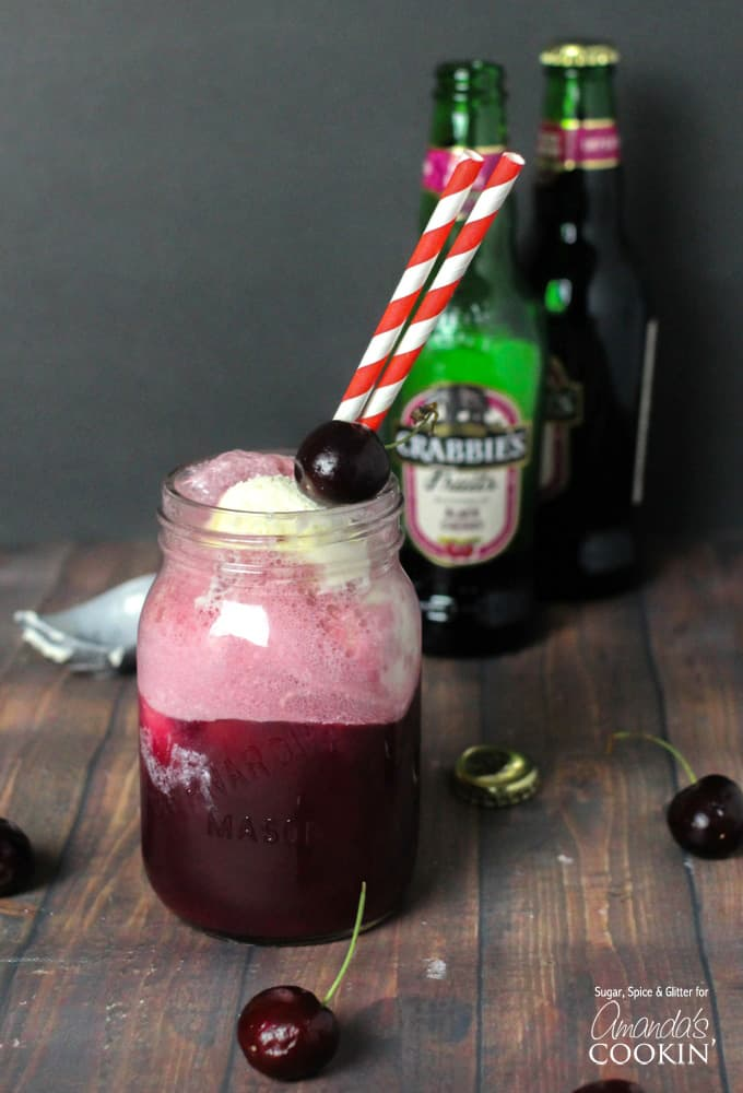 If you love a good black cherry float, then you'll love these black cherry float cocktails, made just for adults. Perfect on a hot summer day.