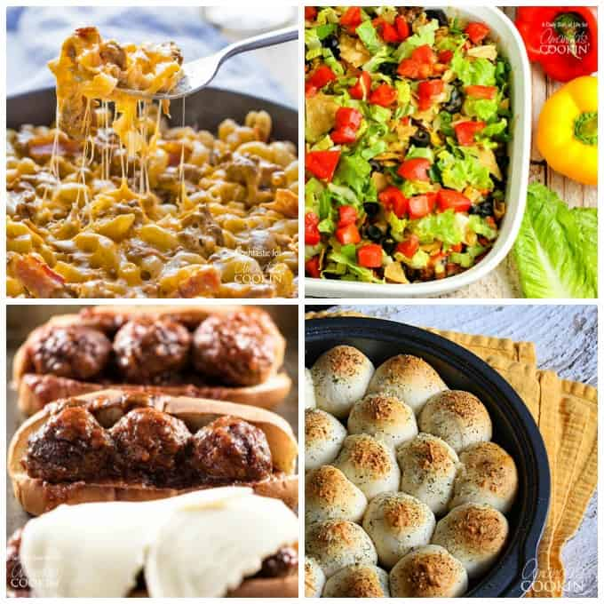 Delicious ground beef dinner ideas your family will love.