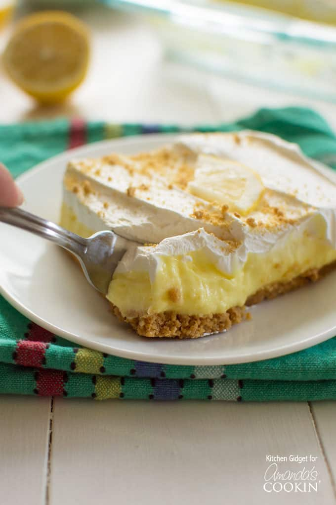 Lemon Cool Whip Cake
