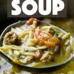 Italian Sausage Tomato Orzo Soup Recipe