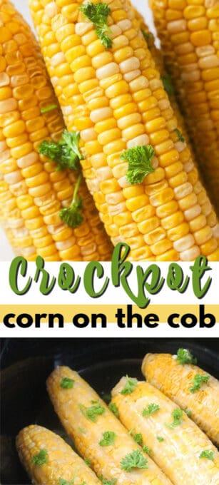 crockpot corn on the cob pin image