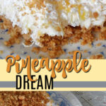 pineapple dream dessert pin image