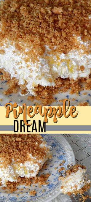 pineapple dream dessert pin image
