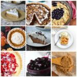 Many different types of holiday recipes such as pies, spice mixes and homemade fillings.
