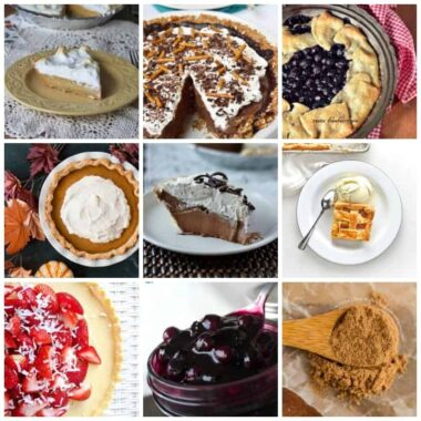The holidays aren't the holidays without homemade pie. Pie recipes include fruit pie, cream pie, pumpkin and pecan pie, plus recipes for filing and crust!
