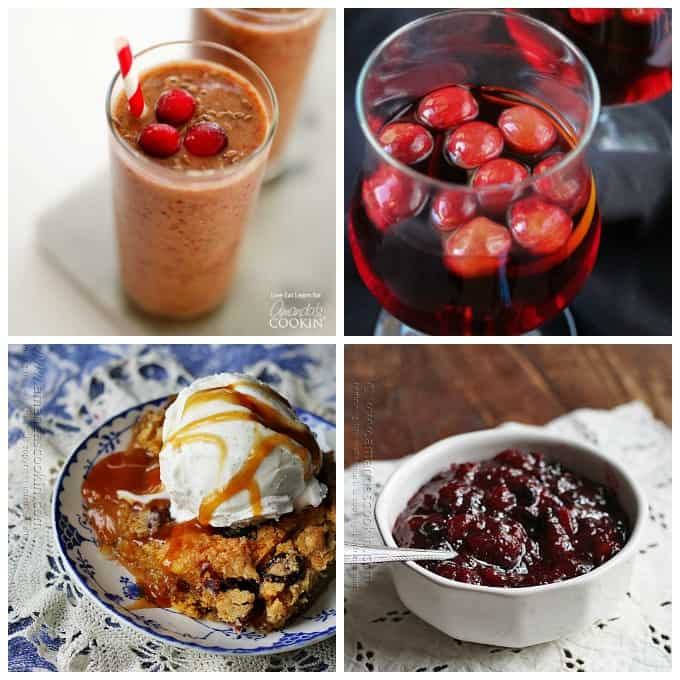 Delicious cranberry recipes!