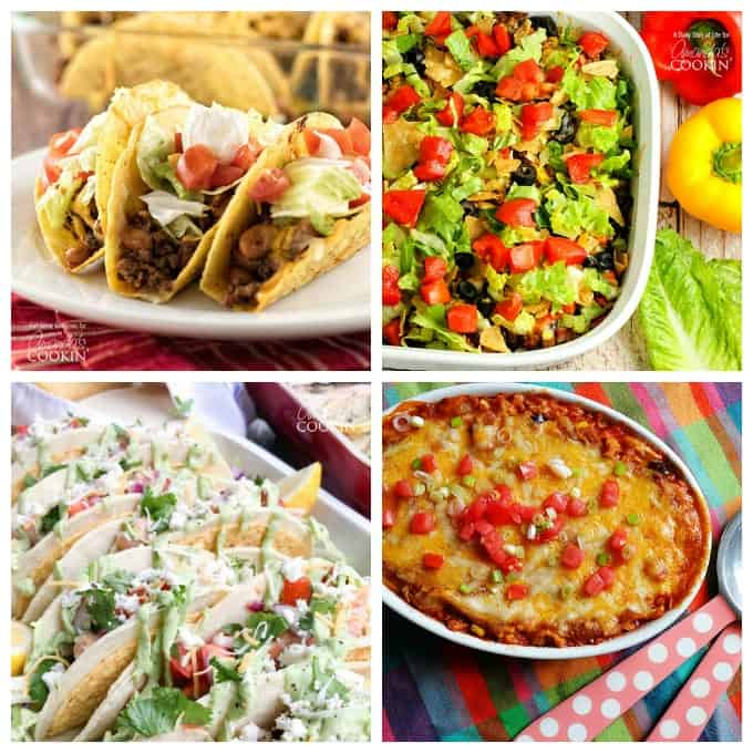 Try some of these delicious Mexican inspired recipes tonight!