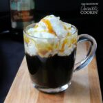 Those looking for a sweet cocktail with notes of rich coffee and salted caramel will want to try this easy to make salted caramel coffee cocktail.