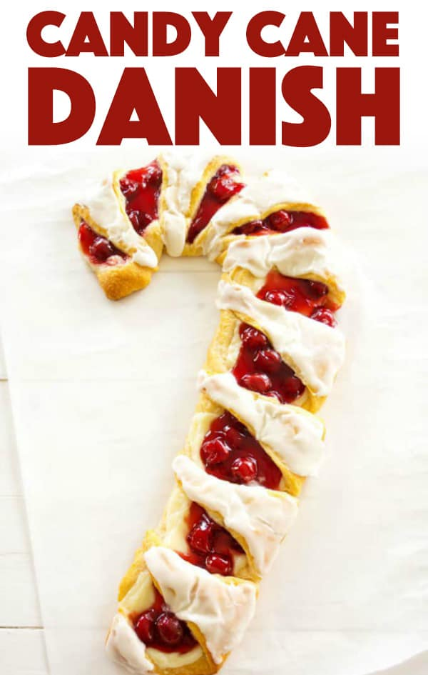Candy Cane Danish Recipe