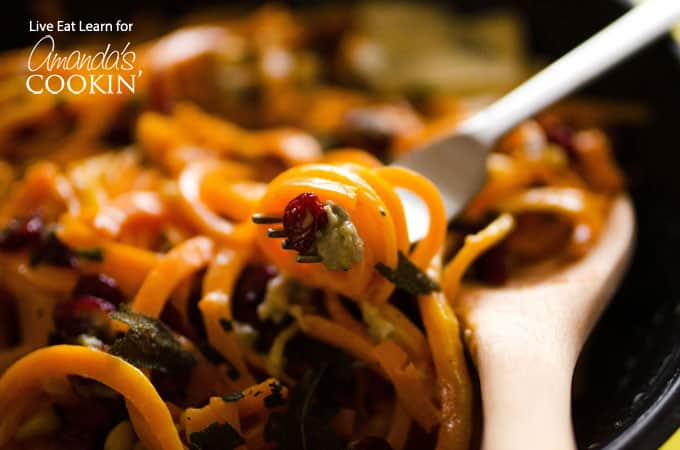 Make delicious butternut squash pasta