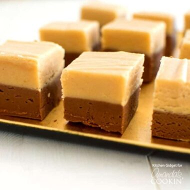 Homemade chocolate peanut butter fudge is a peanut butter lover's dream! Make this fudge recipe for the holidays!