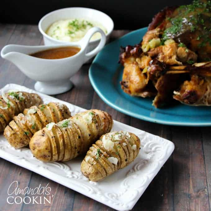 Learn how to make hasselback potatoes with this easy recipe