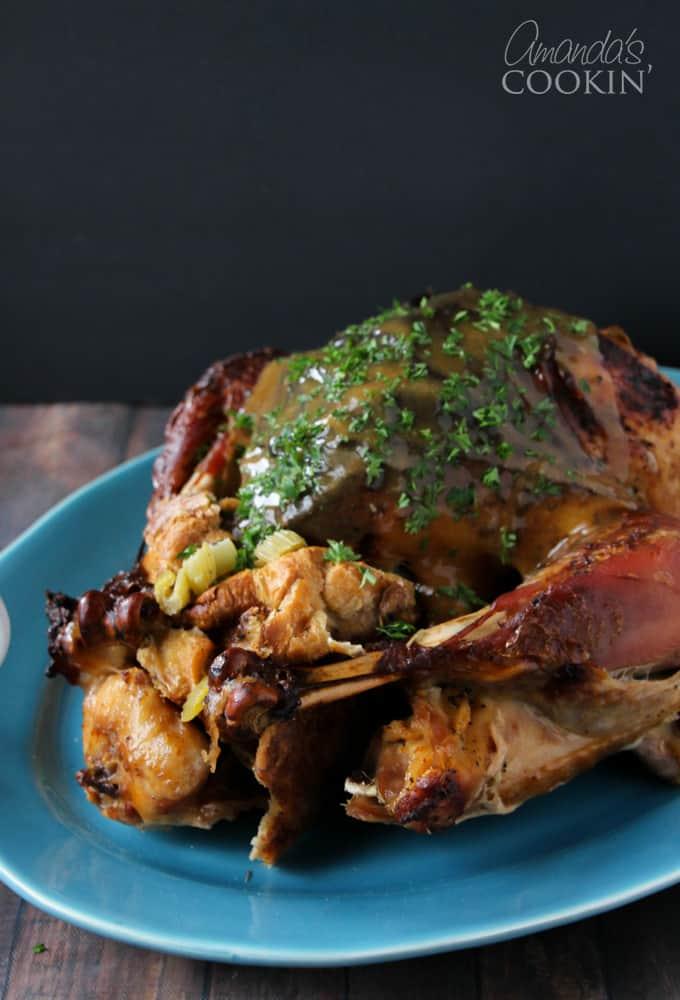 Delicious Jennie-O oven ready turkey