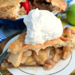 Have a slice of delicious homemade apple pie you make from scratch!