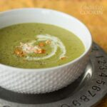 Make this delicious cream of asparagus soup for lunch or an appetizer, so good!