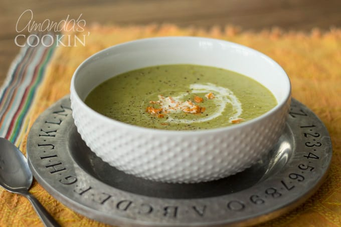 How to make cream of asparagus soup