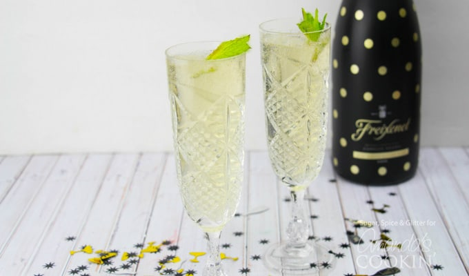 This fizzy julep is a delicious twist on a simple glass of champagne or a classic mint julep, and is sure to be a hit at your next celebration - whatever the event!