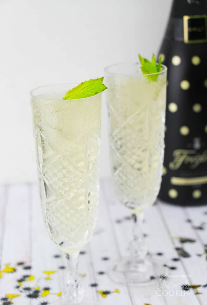 A New Year calls for a new kind of cocktail and this Fizzy Julep is it. It's a delicious twist on the somewhat lower-key mint julep, making it something that pops and fizzes its way into your cocktail rotation.