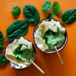 Pineapple Spinach Smoothie Bowl: the green smoothie in a bowl