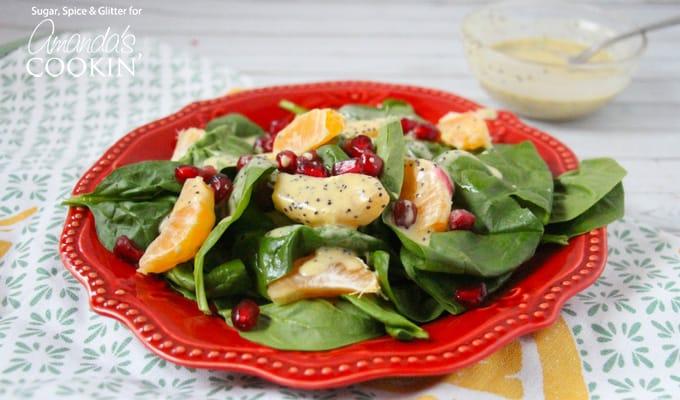 Pomegranate Clementine Salad