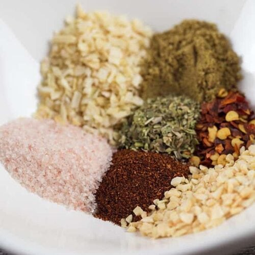 Homemade Taco Seasoning Mix Recipe Amanda S Cookin Condiments