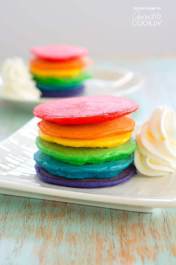 Rainbow Pancakes: How to Make Them from Scratch