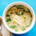 White Bean Soup: an easy recipe for bean soup, perfect for winter