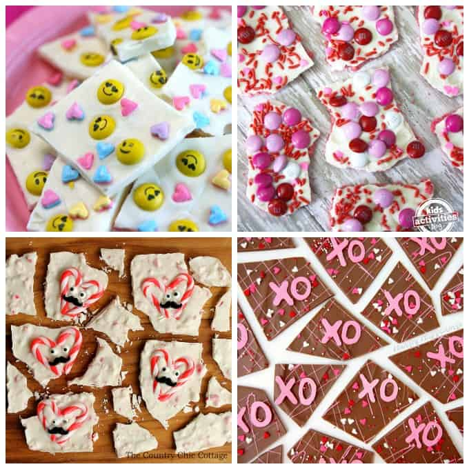Fun Valentine candy bark recipes and plenty of other homemade candy recipes!