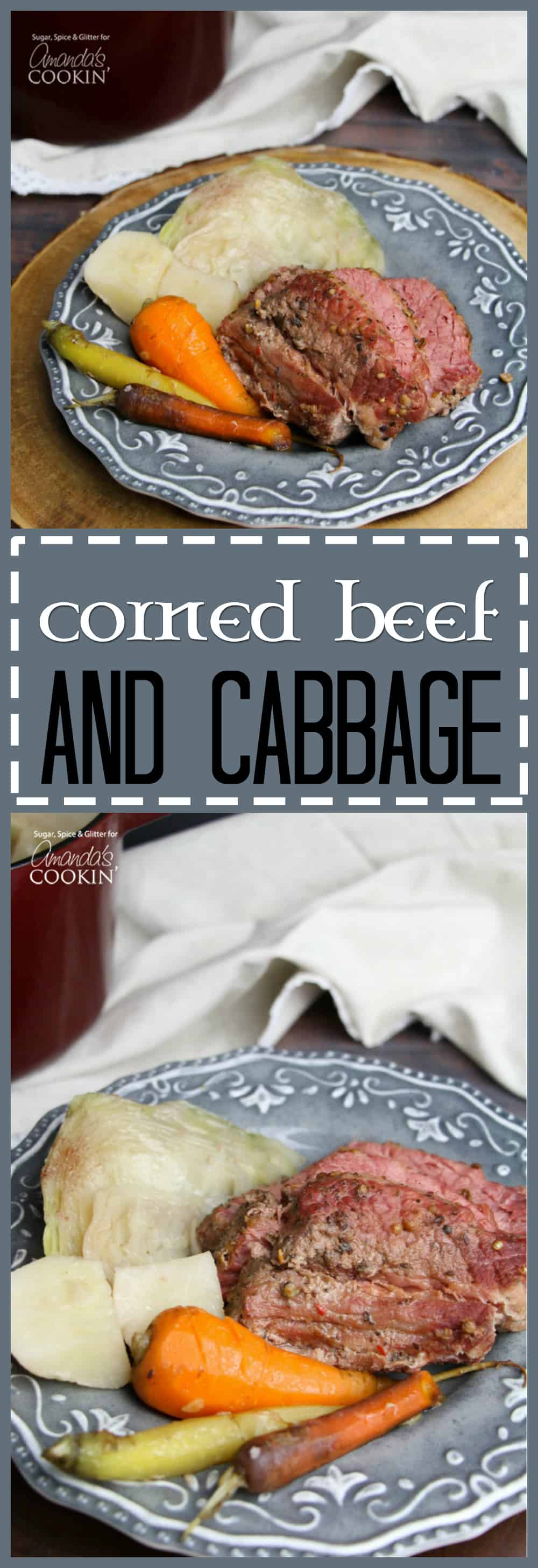 Corned beef and cabbage is a delicious one-pot recipe that has come to symbolize Irish culture in North America, a popular dish for St. Patrick's Day!