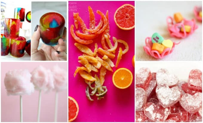 Lots of fun ideas for making homemade candy, plenty of recipes to try!
