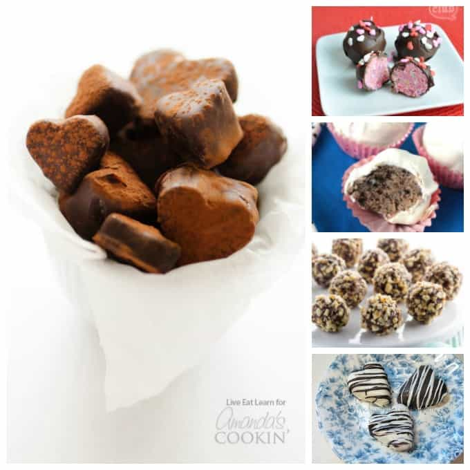 Lots of homemade candy recipes, including these recipes for homemade truffles!