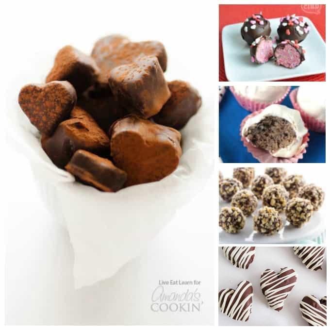 homemade truffles for valentine's day