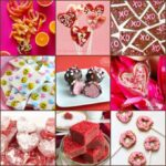 collage of several candy recipes