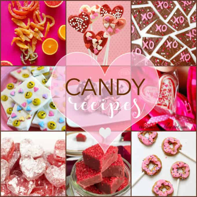 24 Homemade Candy Recipes: perfect for Valentine's Day